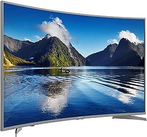 Hisense Televisor curvo H55MEC5650 de 140 cm (55 pulgadas) (Ultra HD, sintonizador triple, Smart TV)