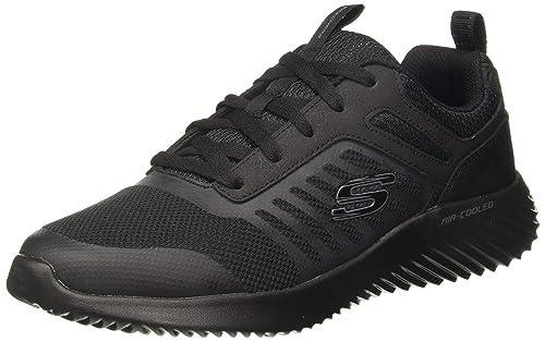 Recuperar Barcelona linda  Buy Skechers Men's Bounder-SKONSHY Black Sneakers-9 UK (10 US) (52505-BBK)  at Amazon.in