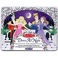 Melissa & Doug Dance All Night Princess Magnetic Tin Set, Multi Color