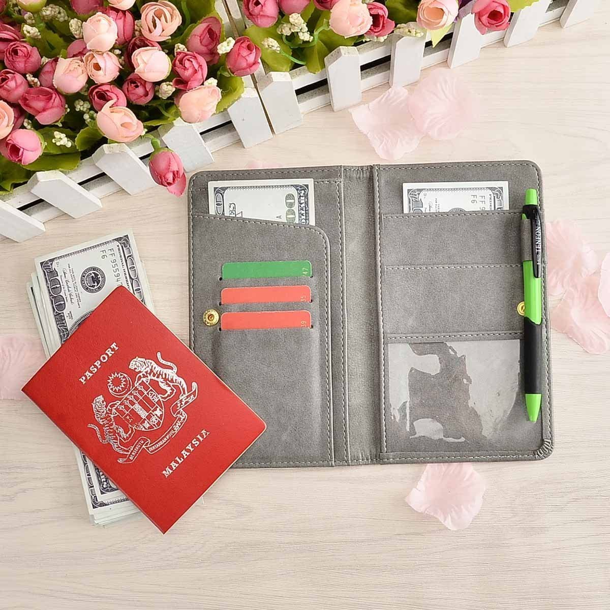 ID Card YRLED Canvas Card Wallet Minimalist Size for Credit Card Cashes Cute Wallet for Ladies