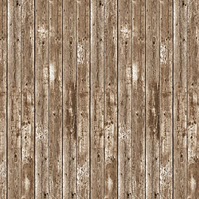 Beistle 52041 Barn Siding Backdrop Party Accessory, 4-Feet by 30-Feet: Group Publishing: Kitchen & Dining