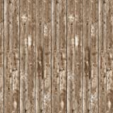 Beistle Barn Siding Backdrop Party Accessory, 4-Feet by 30-Feet