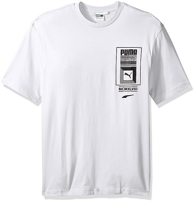106d2ad1b Puma Playera Logo Tower para Hombre: Amazon.com.mx: Ropa, Zapatos y ...