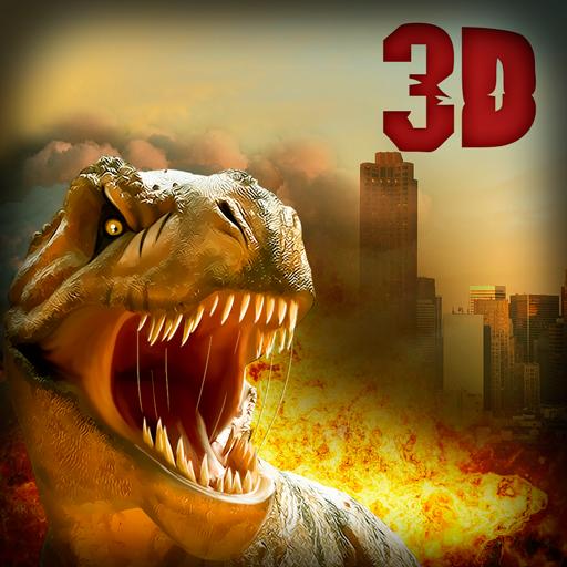 Crazy Dino: Godzilla Simulator 3D (Godzilla Games)