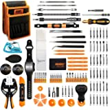 Jakemy Screwdriver Set, All in 1 with 50 Magnetic Precision Driver Bits, Repair Tool kit with Pocket Tool Bag for iPhone…