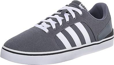 Adidas Neo Hawthorn St Zapato, PlomoBlancoNegro, 8 M US