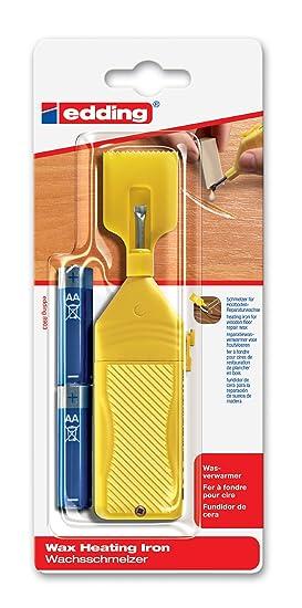 Edding 4-8903-1-4 - Utensilio para derretir cera restauradora para tablas