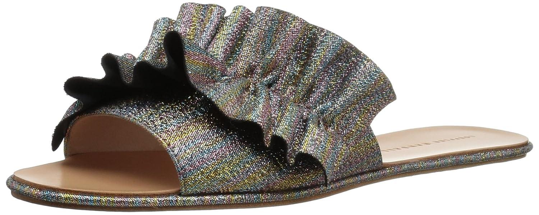 Loeffler Randall Women's Rey Slide Sandal B07B9H9XYF 10 B(M) US|Rainbow