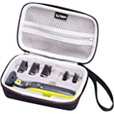 LTGEM Hard Travel Case for Philips Norelco OneBlade Hybrid Electric Trimmer and Shaver, FFP, QP2630/70 QP2520/90 QP2520/70