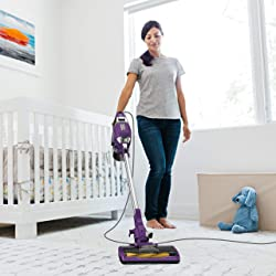 Shark Rocket Corded Ultra-Light Vacuum with Zero-M Anti-Hair Wrap Technology, XL Dust Cup, Hand Vacuum Mode, & Swivel Steering (ZS351), Plum Purple