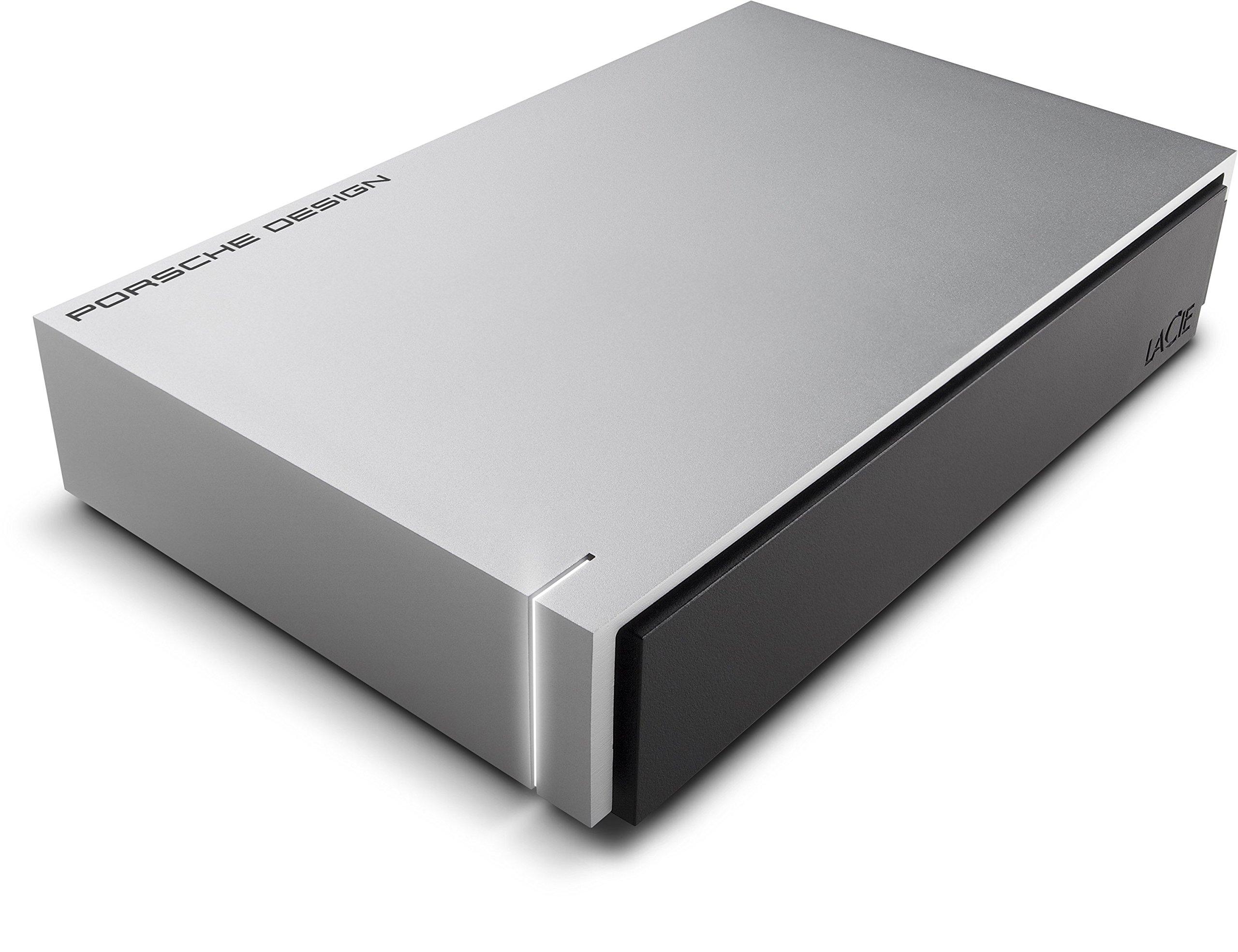 LaCie Porsche Design 4TB USB 3.0 Desktop Hard Drive + 2mo Adobe CC Photography (STEW4000400)