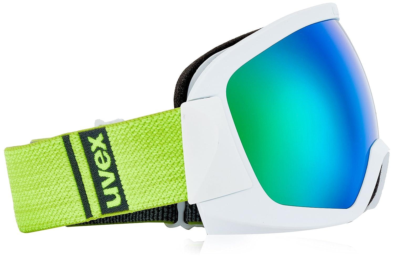 Uvex Erwachsene Contest FM Skibrille, Weiß mat, One One One Größe B073KX3GGH Skibrillen Neuer Stil 72cee3