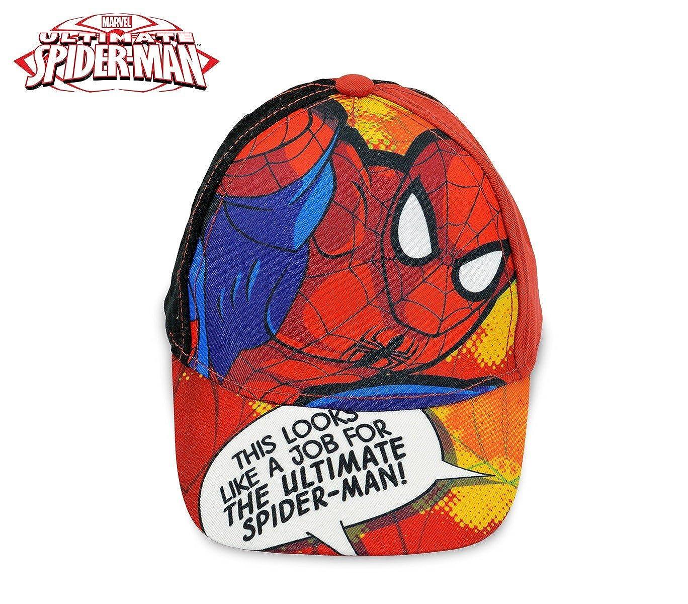 MWS2834 MV92263 Gorra para niños de Spiderman ajustable y con visera  (ROJO)  Amazon.es  Ropa y accesorios 3a01eb63408