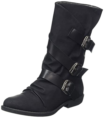 alms - Black Texas (Man-Made) Womens Boots