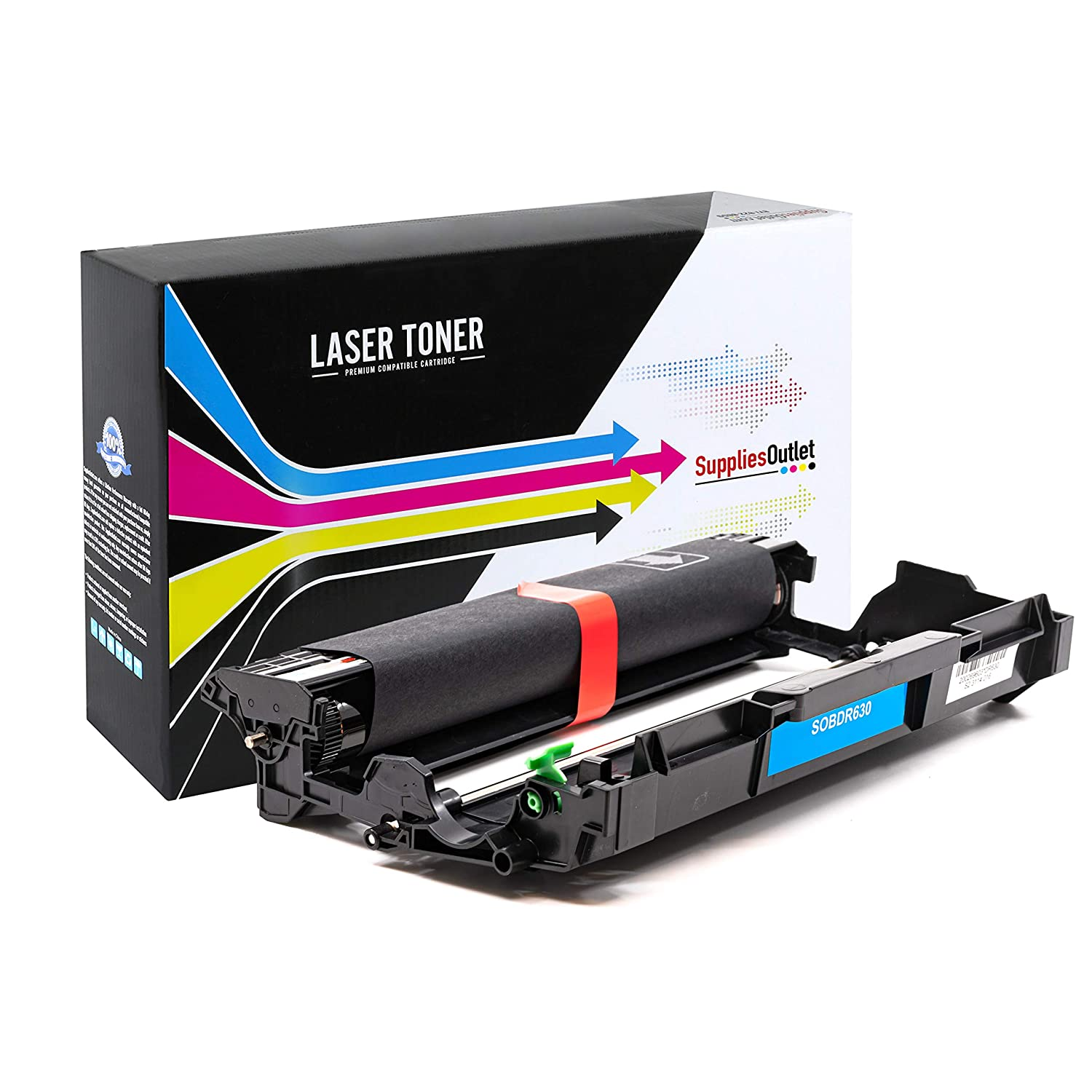 Black,1 Drum USA Advantage Compatible Drum Unit Replacement for Brother DR630 to Use with HL-L2380DW