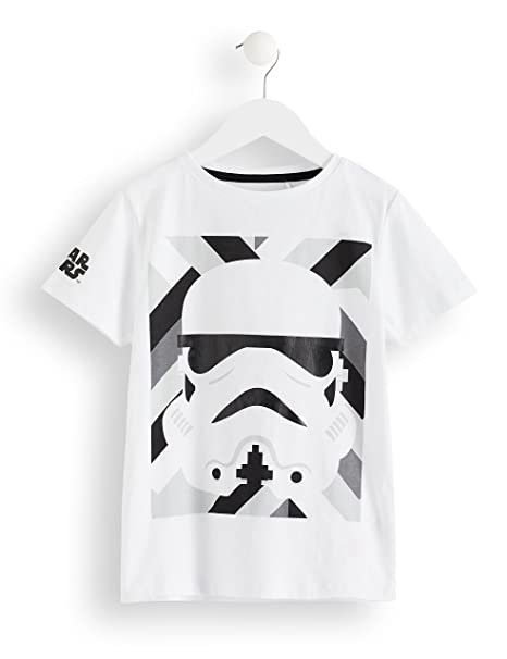 RED WAGON Camiseta Star Wars Stormtrooper Niños  Amazon.es  Ropa y  accesorios e5f671c59a8ca
