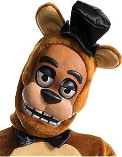 New With Tags Adults Five Nights At Freddy/'s Freddy Fazbear Bear 3//4 Mask