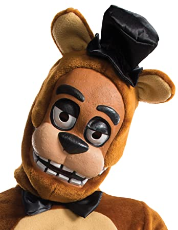 five nights at freddy s freddy child costume mask amazon co uk