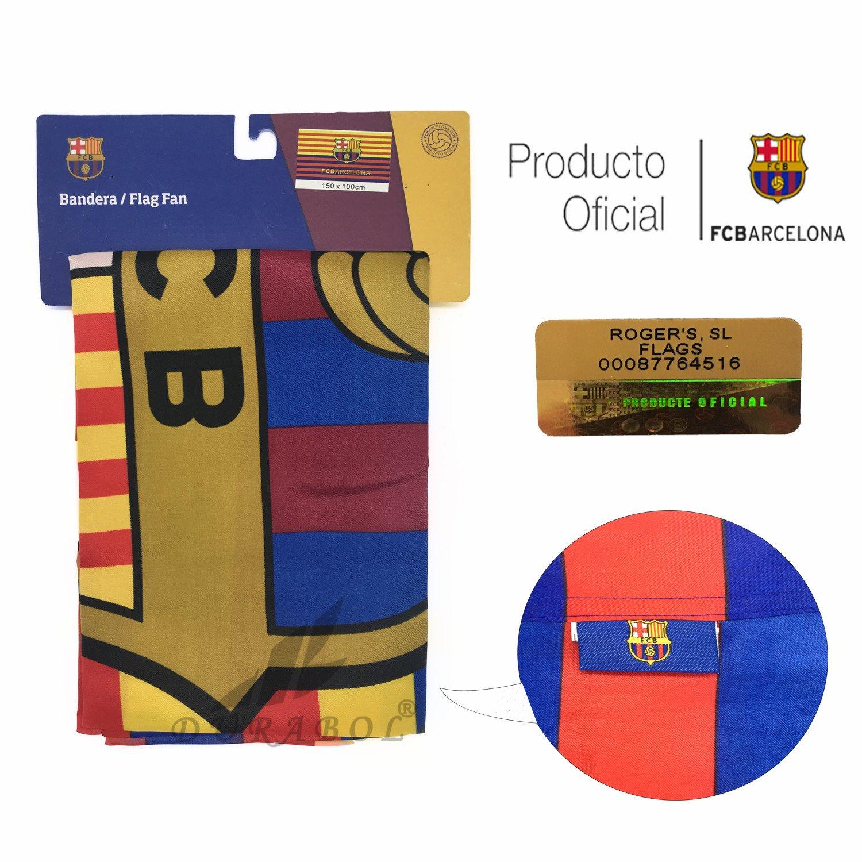 Producto Oficial FC Barcelona Bandera FCBARCELONA (100X75CM)  Amazon.es   Deportes y aire libre 9c06adde46d