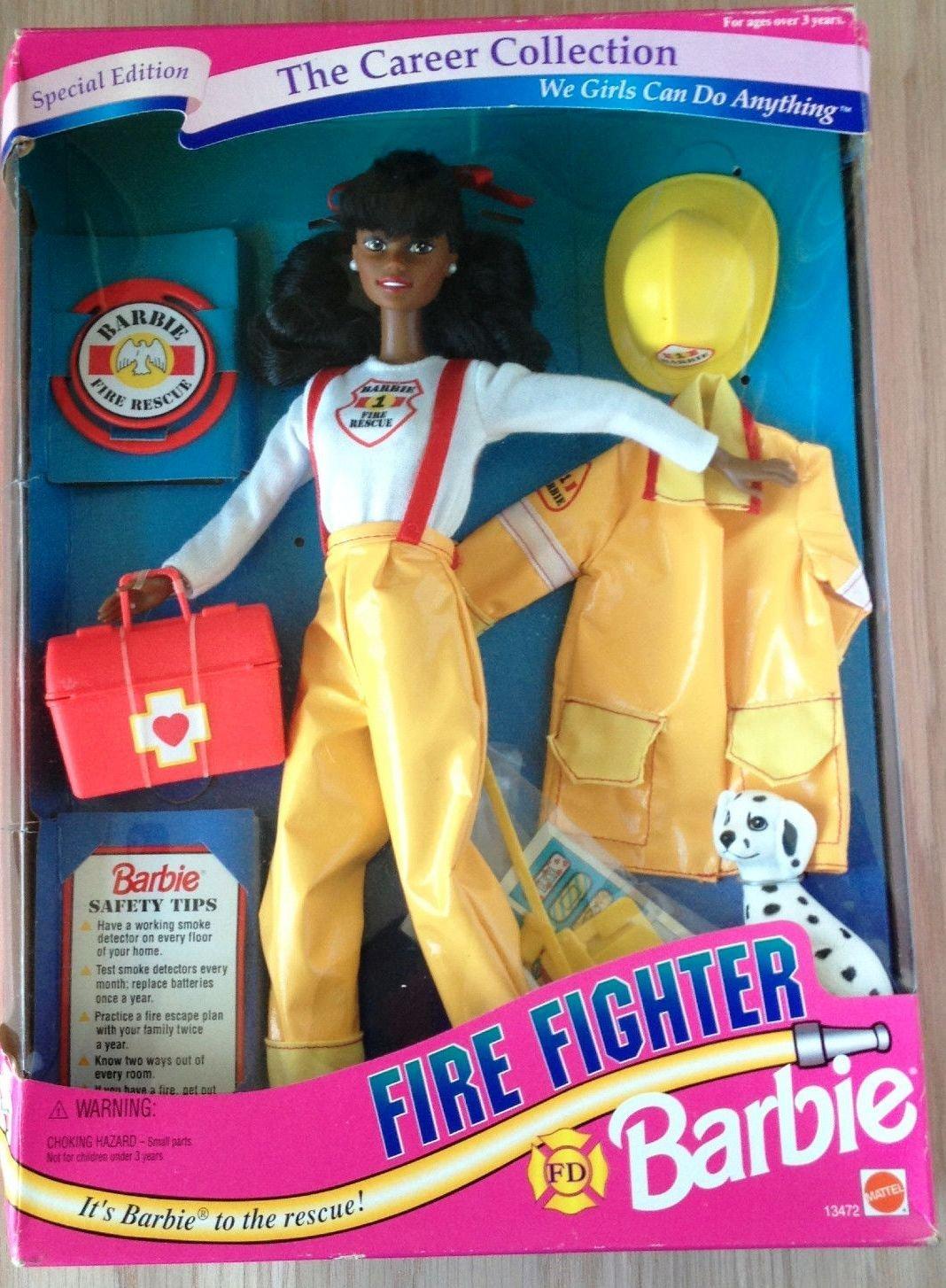 The Career Collection [並行輸入品] Fighter African American Fire Fighter Barbie The [並行輸入品] B077PB8KLB, 新茶静岡茶栽培農家 銀 平:2a00e458 --- arvoreazul.com.br