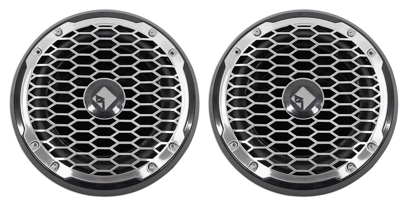 2 Rockford Fosgate PM210S4B 10'' 1000W Marine/Boat 4-Ohm Subwoofers Punch M2 Subs
