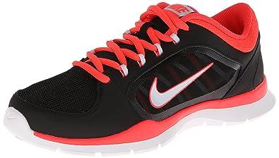 New Nike Women's Flex Trainer 4 Cross Trainer Black/Crimson 6 Wide