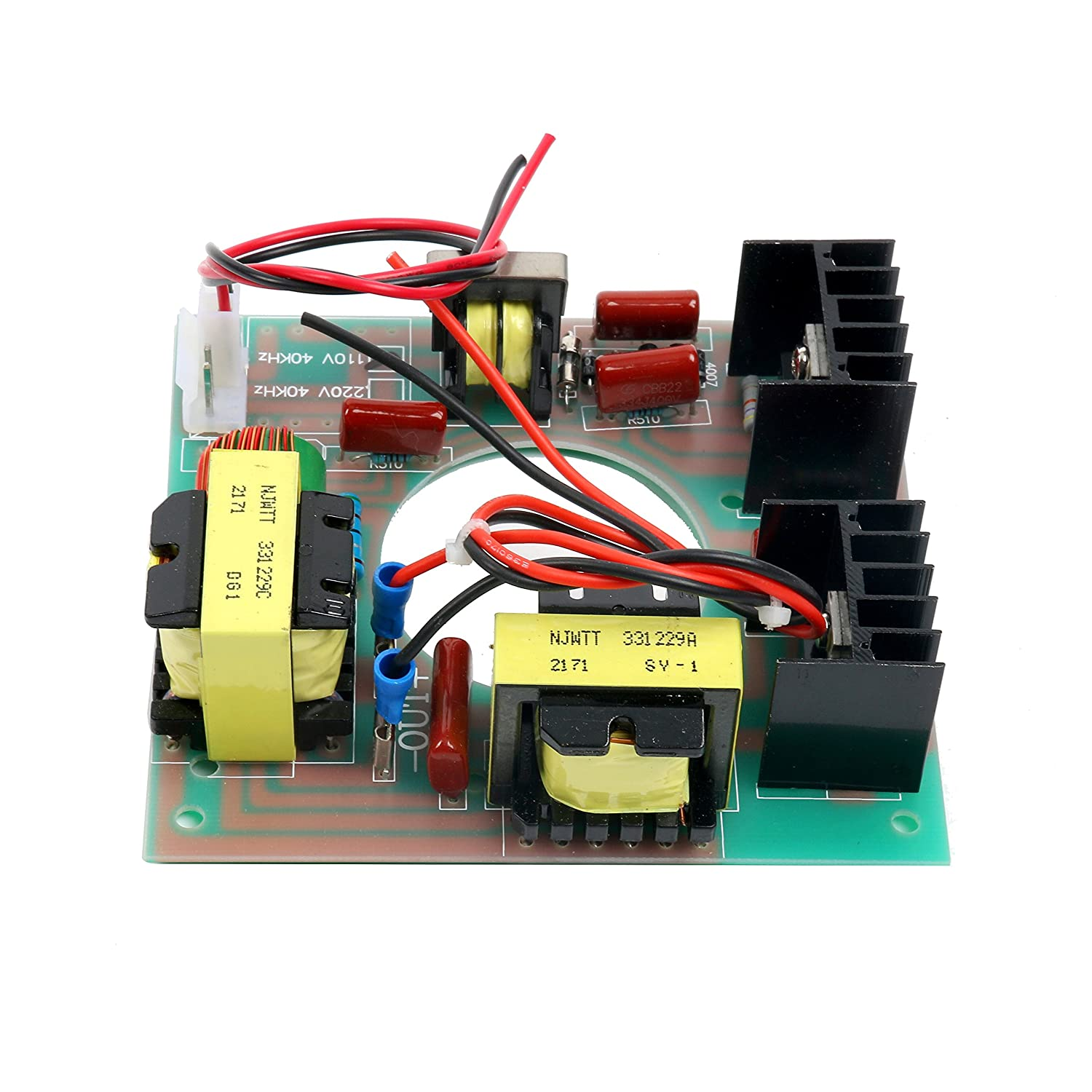 60w 40khz Ultrasonic Cleaning Transducer Cleaner Power Driver Generators Generator Circuit Board 110v Ac Industrial Scientific