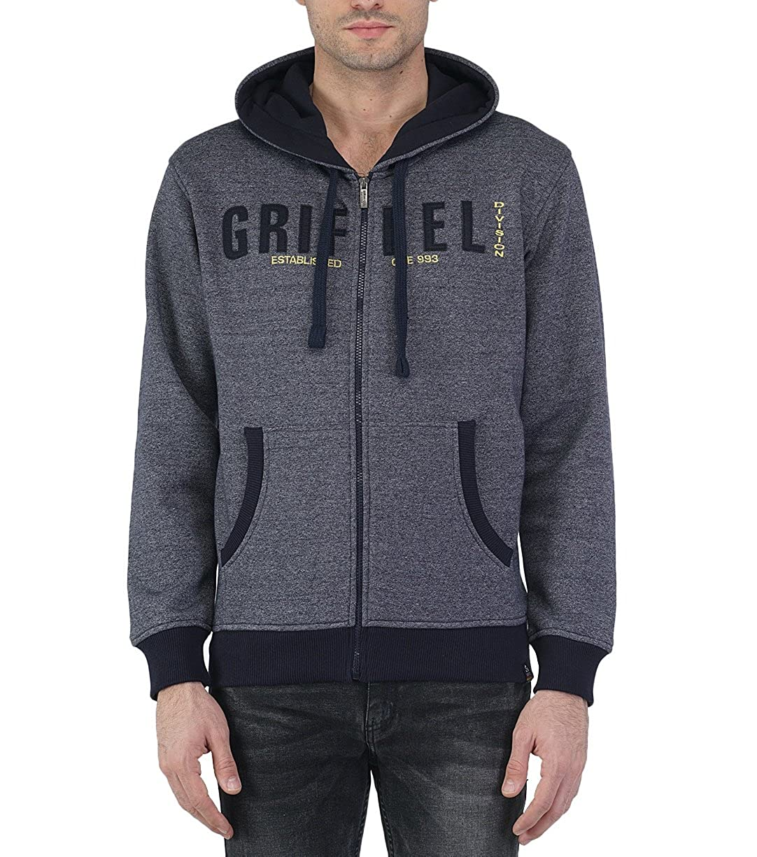 Anthra XLarge Griffel Mens Sweatshirts