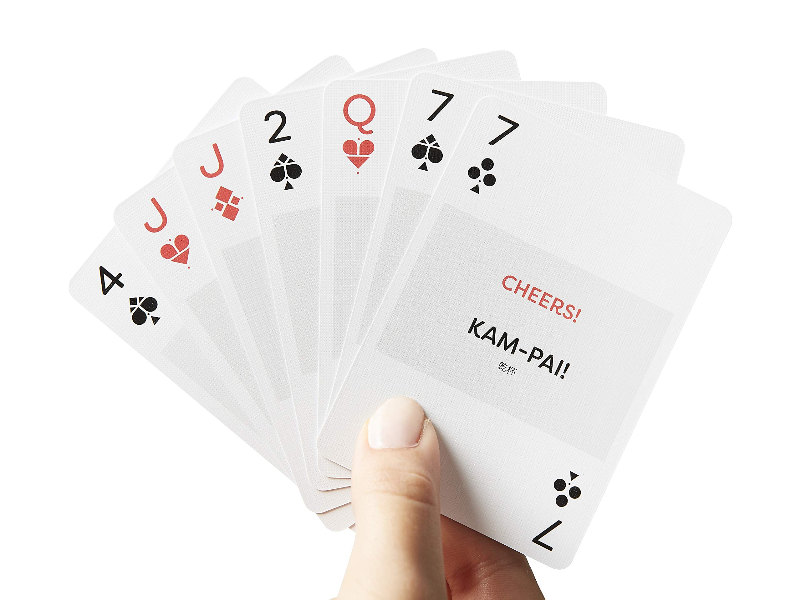 Japanese- Lingo Playing Cards | Language Learning Game Set | Fun Visual Flashcard Deck To Increase Vocabulary and Pronunciation Skills - 54 Useful Phrases