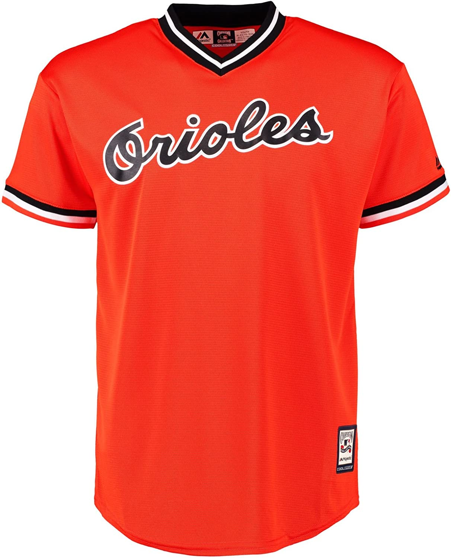 Cal Ripken Jr Baltimore Orioles Orange Youth Cool Base Cooperstown Replica Jersey