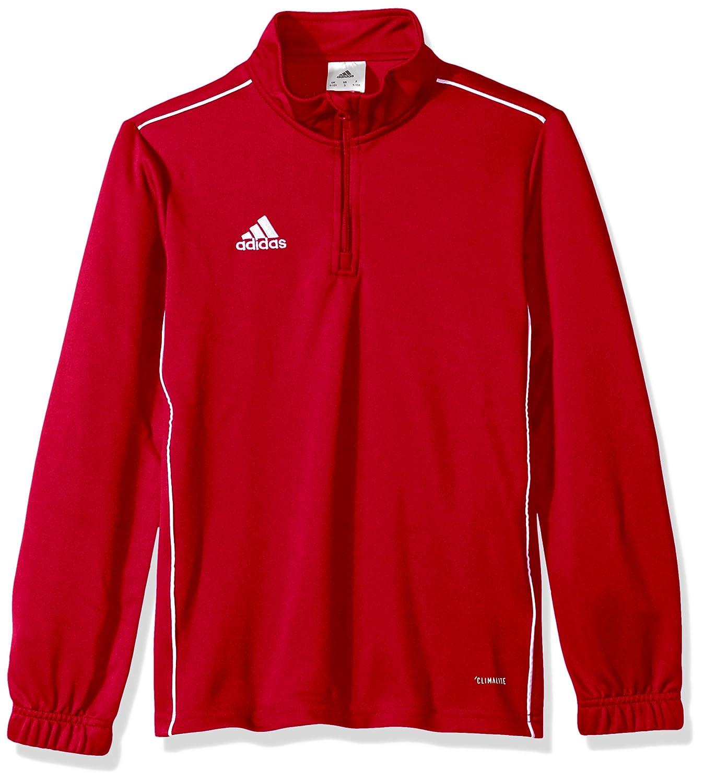 Adidasユニセックスユースサッカーcore18トレーニングトップ B071HFK34Z Large Power Red/White Power Red/White Large