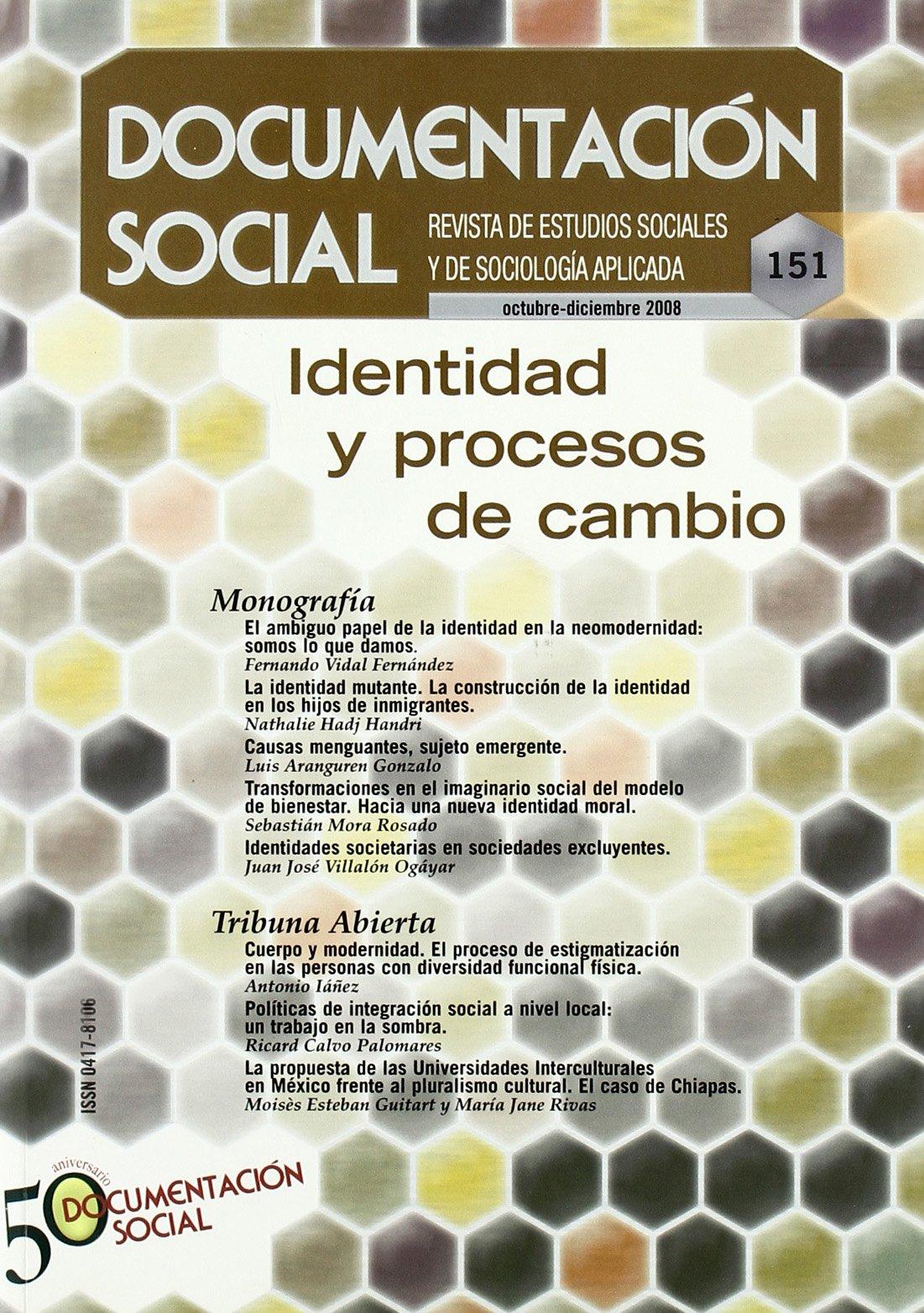 Identidad y procesos de cambio (Spanish) Paperback – January 1, 2008