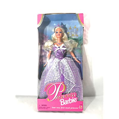 Mattel 1997 Princess Barbie in Purple Dress: Toys & Games