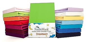 2 Pack de ahorro Niños – Sábana bajera ajustable 100% algodón para cama infantil colchones