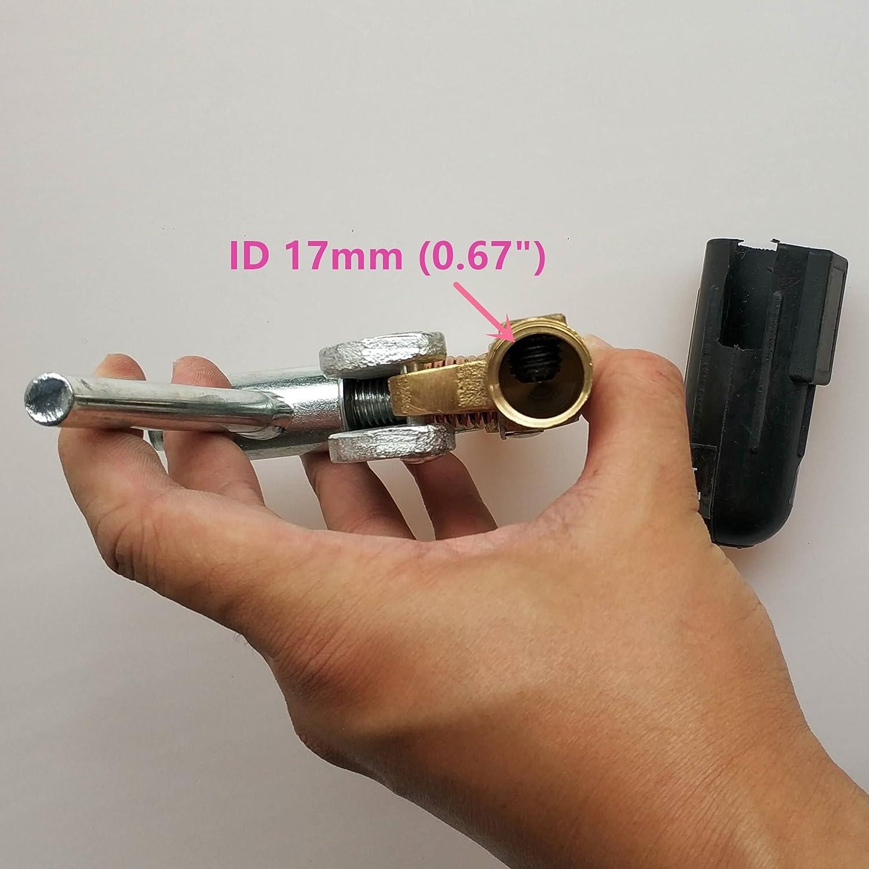 pince de masse opper/_Screw/_600A 200A 300A 500A 600A pour machine /à souder MMA MIG//MAG TIG Pince /à souder