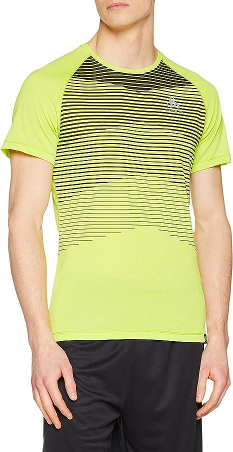 Odlo Bl Top Crew Neck S//S Aion T-Shirt Uomo