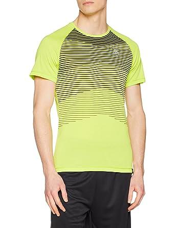 5efbe4c19bd811 Odlo Herren Bl Top Crew Neck S/S Aion T-Shirt: Amazon.de: Bekleidung