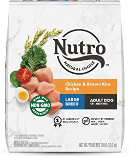 product image for NUTRO NATURAL CHOICE Large Breed Adult & Senior Dry Dog Food, Chicken
