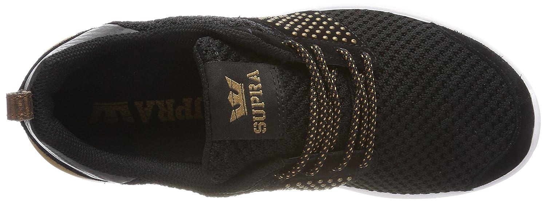Supra Women's Scissor '18 Shoes B074KK34MC 6 M US|Black/Copper-white