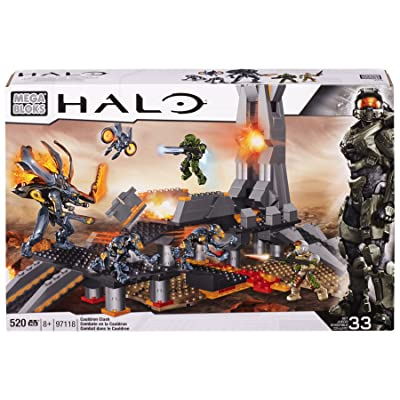 Mega Bloks Halo Cauldron Clash: Toys & Games