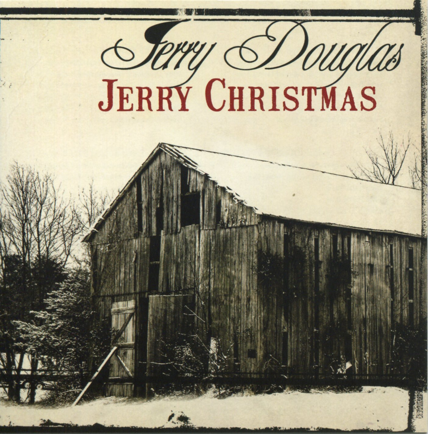 CD : Jerry Douglas - Jerry Christmas (CD)
