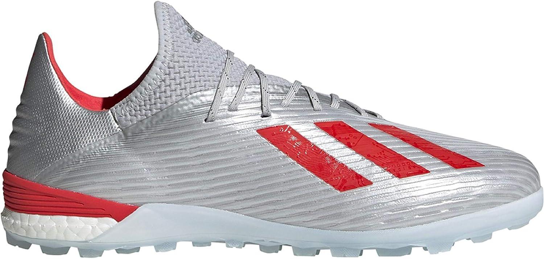 adidas X 19.1 TFSILVMT,HIRERE,FTWWHT (Men's) 81yVyPe4N0L