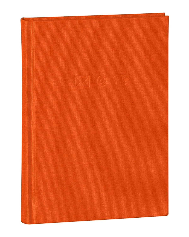 Semikolon (350886) Adressbuch Medium plum (lila) | Adress-Buch mit Einband aus Buchleinenbezug | 192 Seiten mit Register | 12, 5 x 17, 2 cm 1118