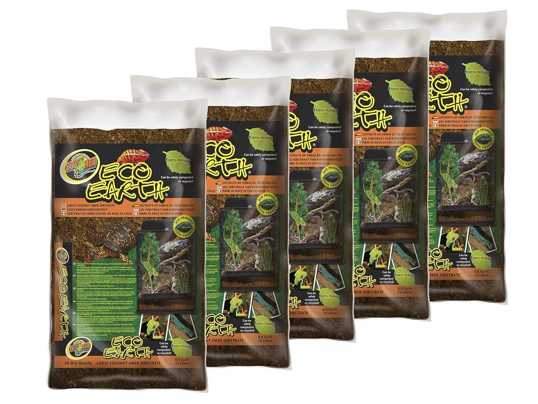 Amazon Zoo Med 26084 Eco Earth Loose Bag 24 Quart Pet Supplies