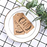 Paper Gift Tags Thank You for Celebrating with