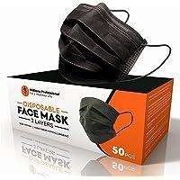 Williams Professional Zwart masker, 50 stuks, hoge bescherming, CE-certificering, filtratie > 98%, elastische oorbellen…