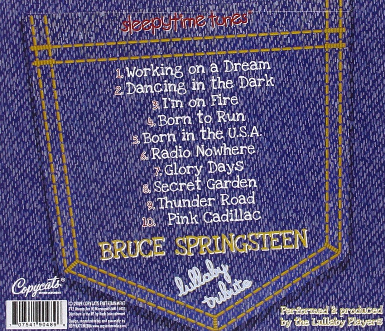 Sleepytime Tunes Bruce Springsteen Lullaby Tribute