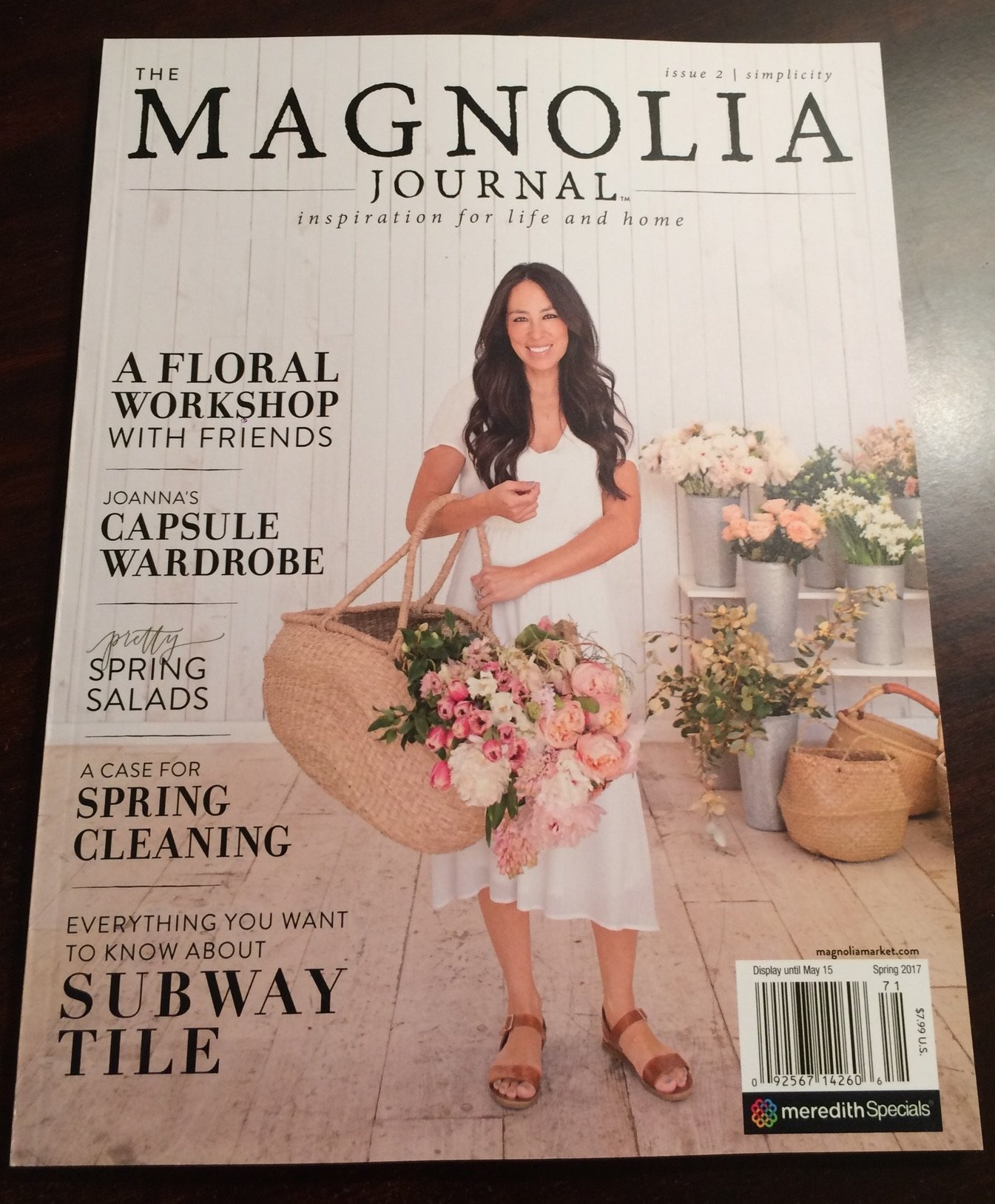 Magnolia Journal Magazine Spring Issue product image