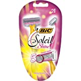 BIC Soleil Shine Women's 5 Blade Disposable Razor