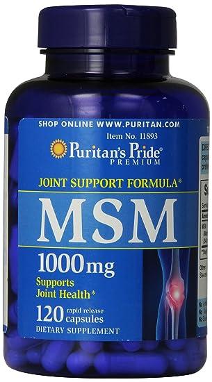MSM , 1000 mg 120 CÁPSULAS!! metilsulfonilmetano (MSM ...